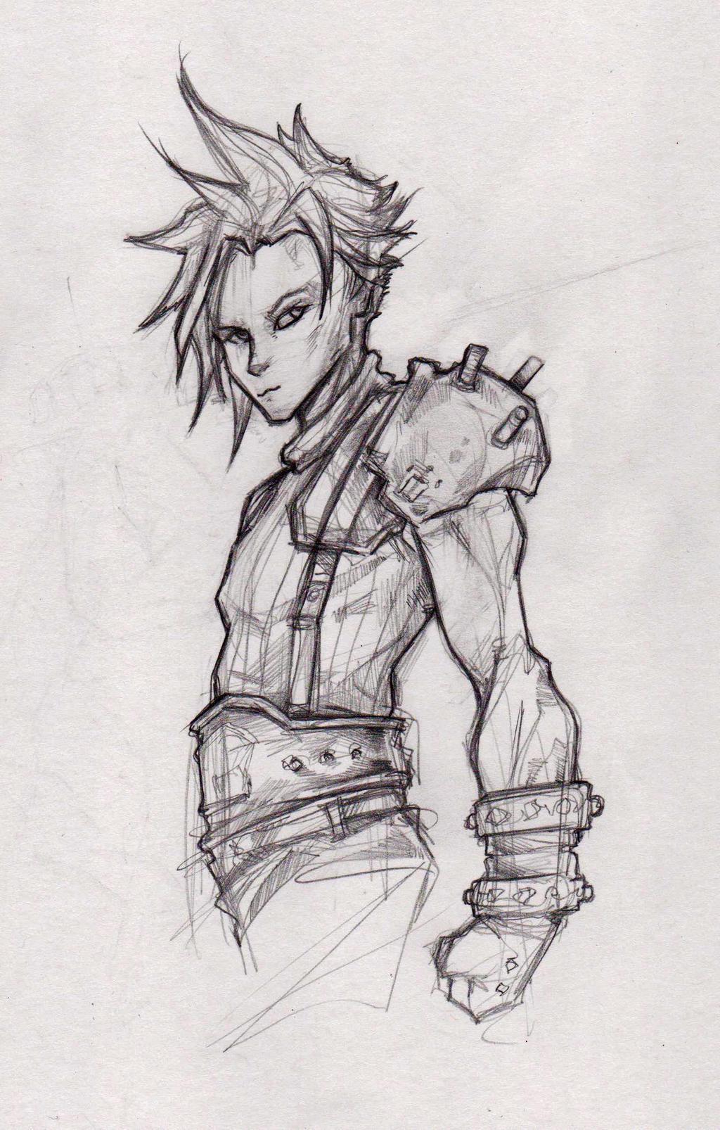 Cloud Strife Final Fantasy VII by ChrisOzFulton