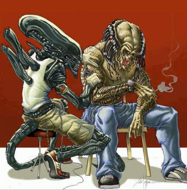 Alien Tattoo Predator by ChrisOzFulton