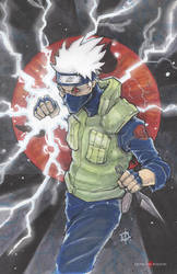 Naruto Kakashi by ChrisOzFulton