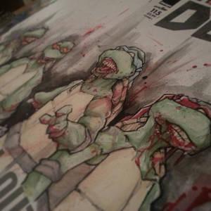 Ninja Turtle Zombies