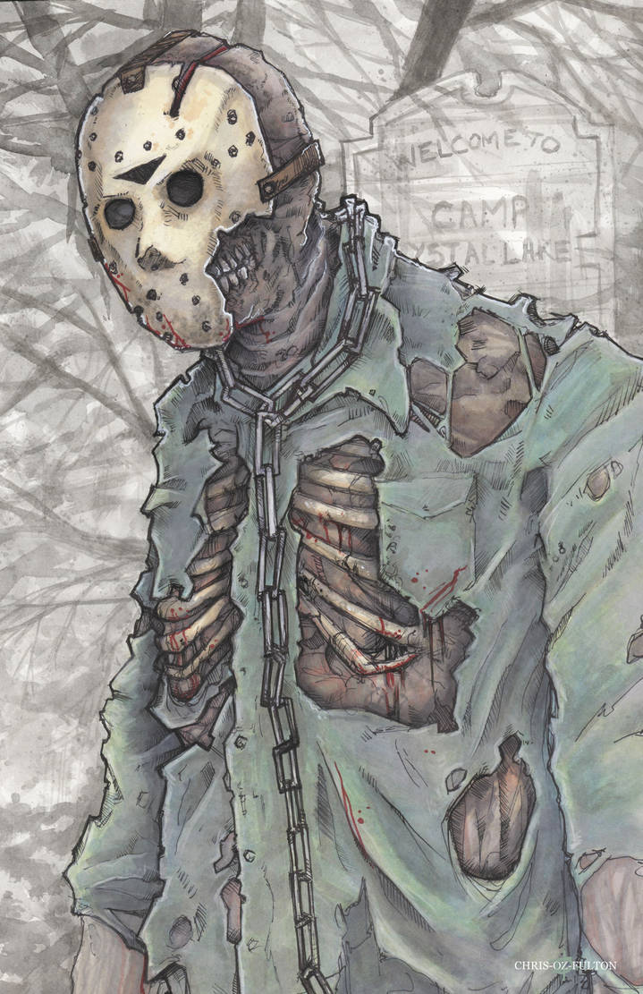 Jason Voorhees Friday the 13th by ChrisOzFulton on DeviantArt