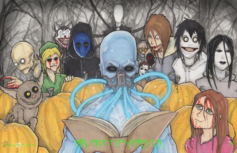 Mr. Creepy Pasta 13 Days of Halloween by ChrisOzFulton