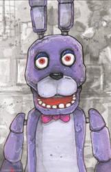 Five Nights At Freddy's Bonnie by ChrisOzFulton