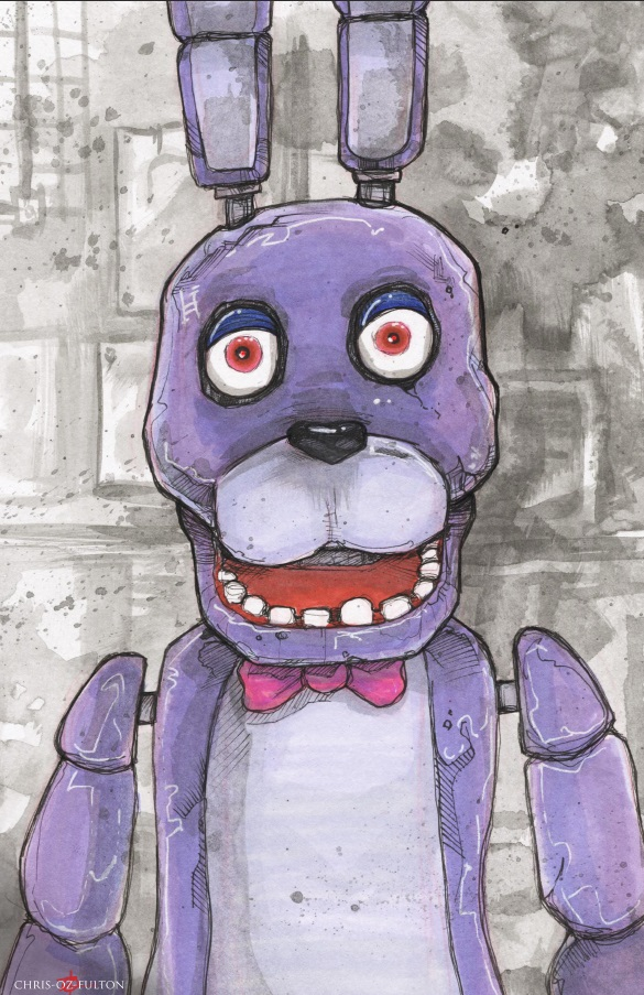 Five Nights At Freddy's Bonnie by ChrisOzFulton