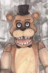 Five Nights At Freddy's Freddy by ChrisOzFulton