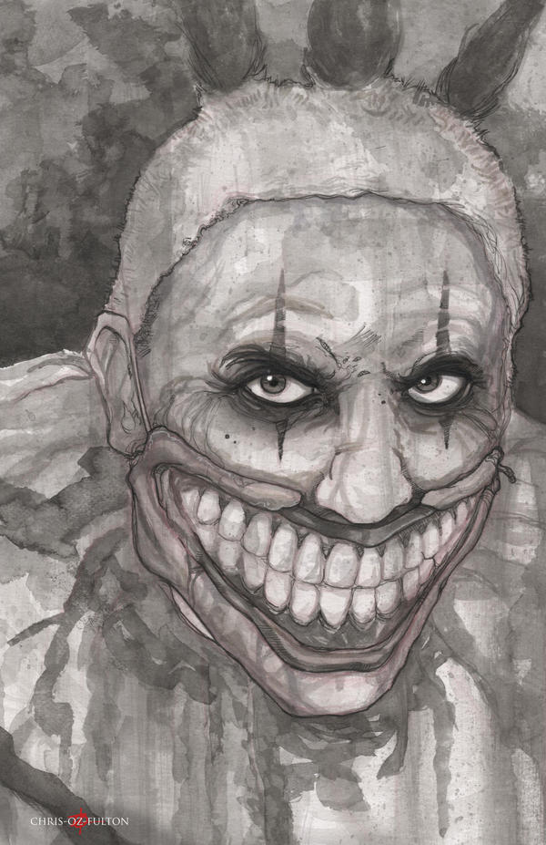 Twisty The Clown American Horror Story by ChrisOzFulton