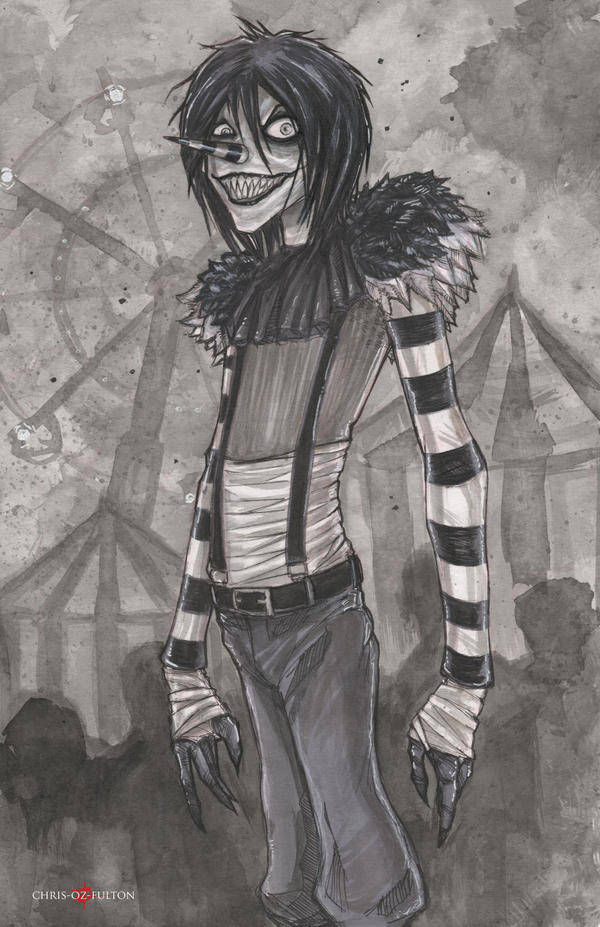 Creepypasta Laughing Jack Drawings | www.pixshark.com ...