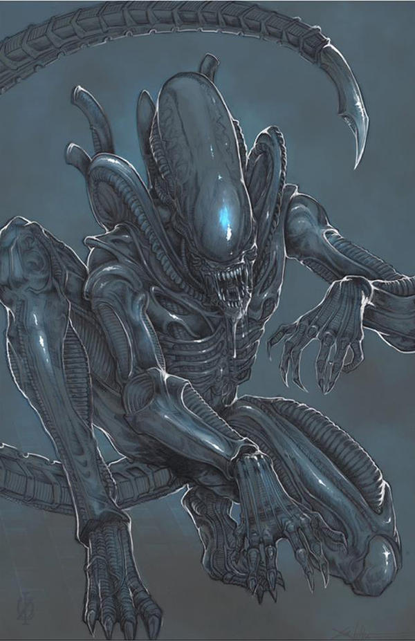 xenomorph alien by chrisozfulton on deviantart