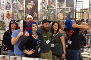 Creepypasta Gang At Dallas Comic Con Fandays by ChrisOzFulton