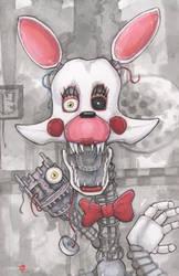 Five Nights At Freddys Mangle by ChrisOzFulton