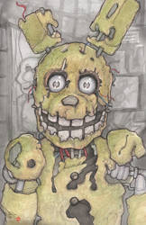 Five Nights at Freddy's 3 Spring Trap by ChrisOzFulton