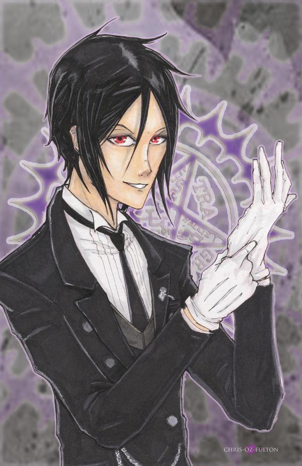Black Butler Sebastian Michaelis by ChrisOzFulton