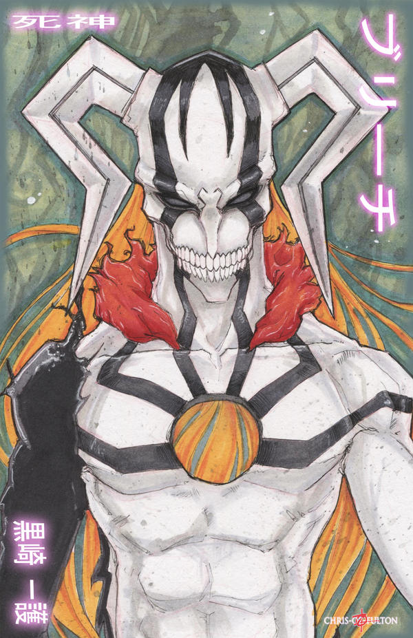 Bleach Ichigo Hollow by ChrisOzFulton