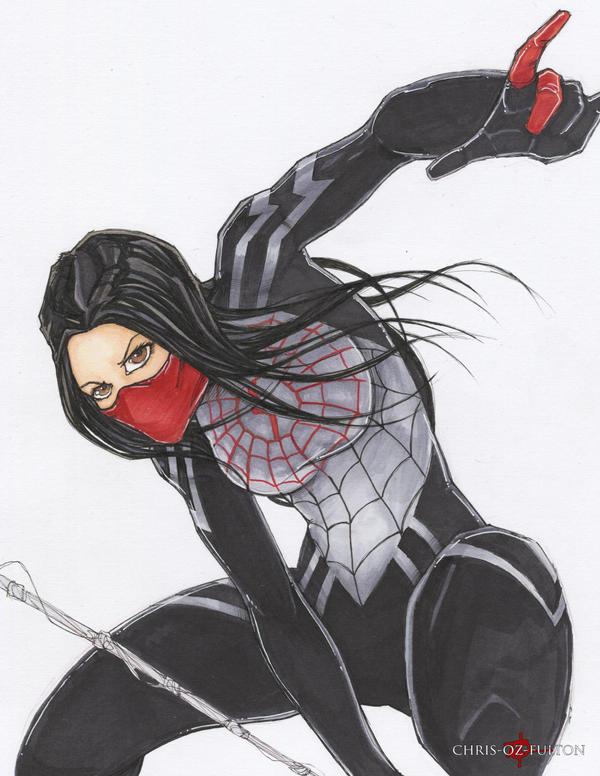 Spider-Man Silk by ChrisOzFulton