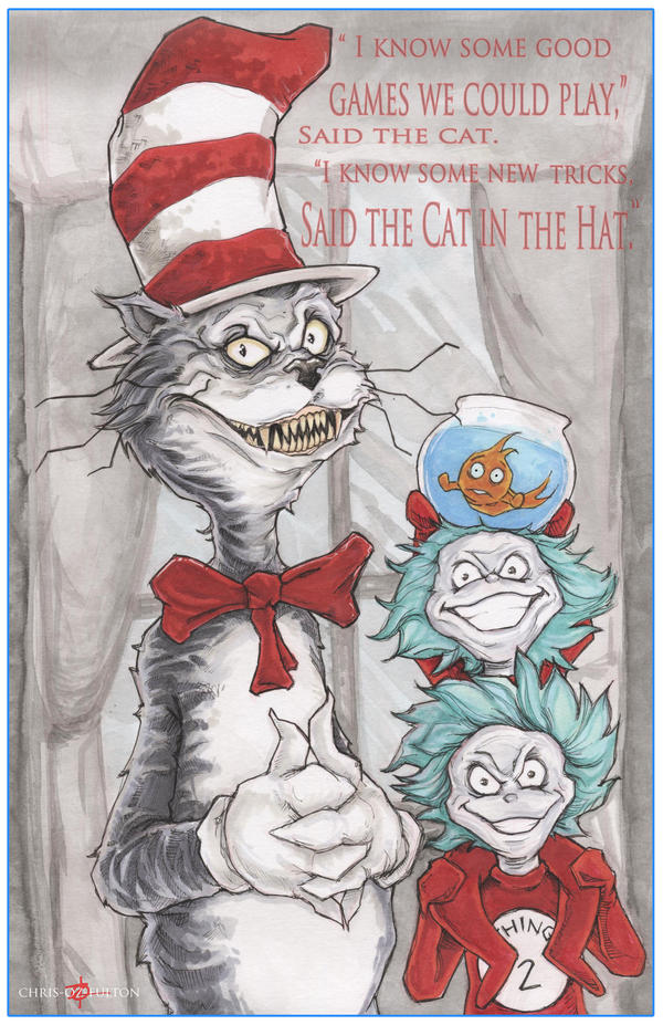 Dr. Seuss The Cat In The Hat by ChrisOzFulton