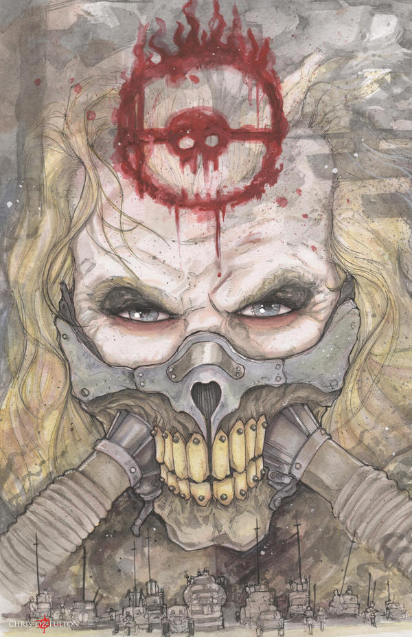 Immortan Joe Mad Max Fury Road by ChrisOzFulton