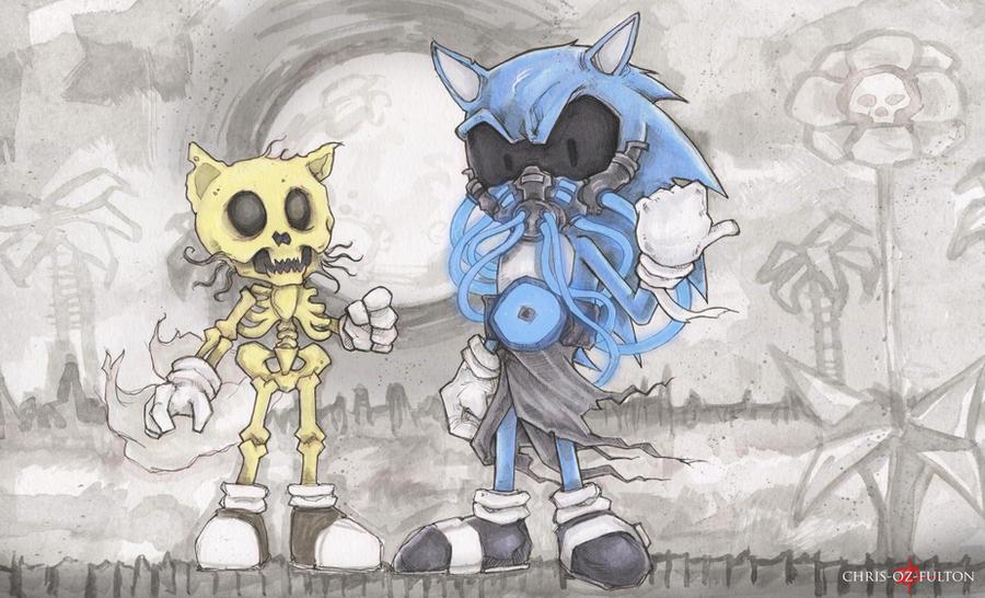 Mr Creepypasta Sonic The Hedgehog by ChrisOzFulton