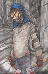 Ticci Toby Creepypasta by ChrisOzFulton