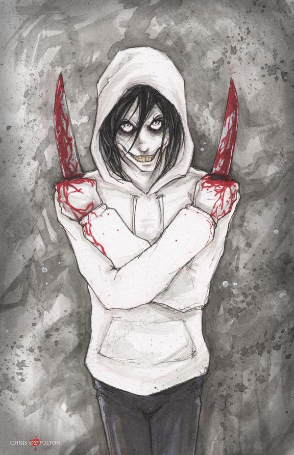 Jeff The Killer Creepypasta by ChrisOzFulton