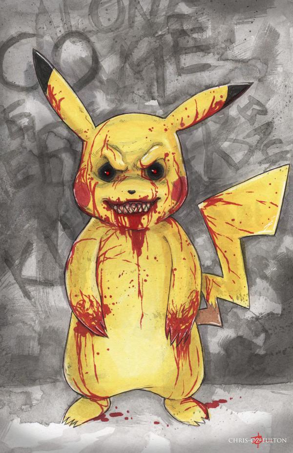 BRVR Pikachu Pokemon Creepypasta by ChrisOzFulton