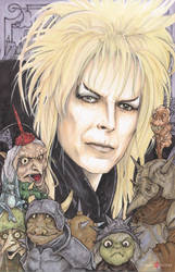 Jareth the Goblin King Labyrinth