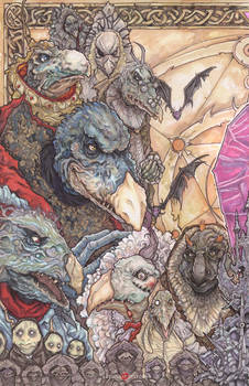 The Dark Crystal The Skeksis