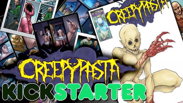 Creepypasta Comic Book Kickstarter by ChrisOzFulton