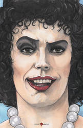 Frank N Furter Rocky Horror Picture Show Tim Curry by ChrisOzFulton