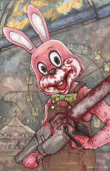 Robbie The Rabbit Silent Hill