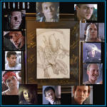 Xenomorph Aliens Artwork Signed