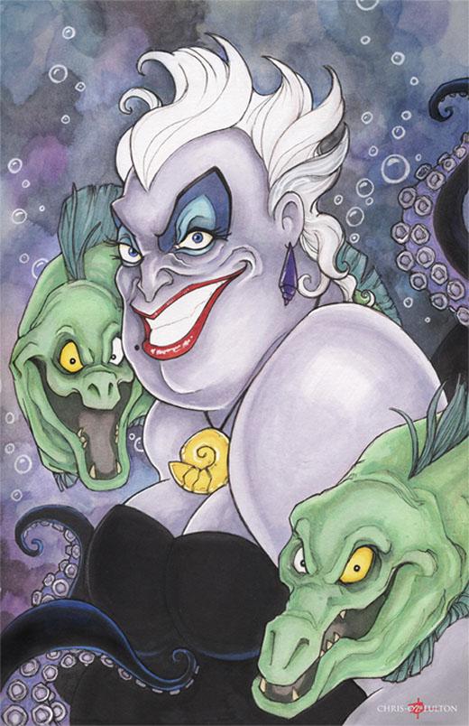 Ursula The Little Mermaid by ChrisOzFulton