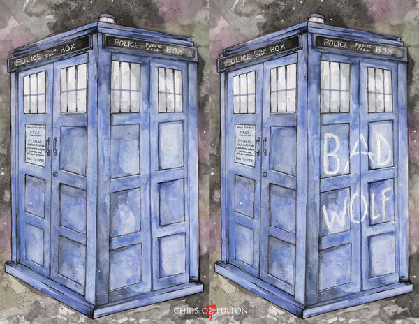 Dr Who Tardis by ChrisOzFulton