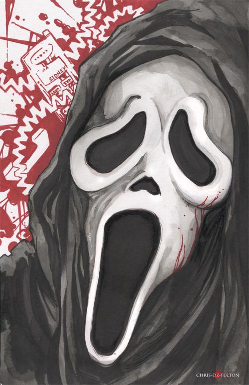 Ghostface Scream by ChrisOzFulton