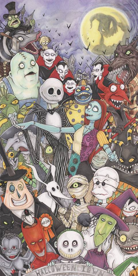 The Nightmare Before Christmas by ChrisOzFulton