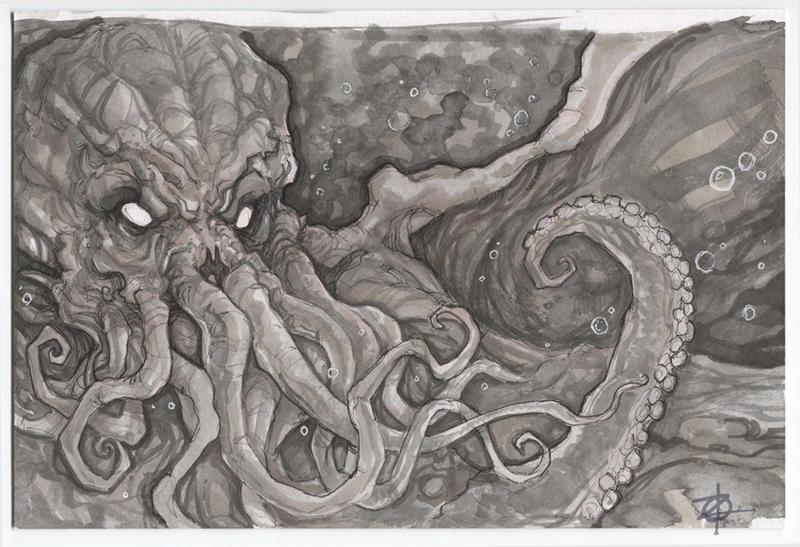 Cthulhu by ChrisOzFulton