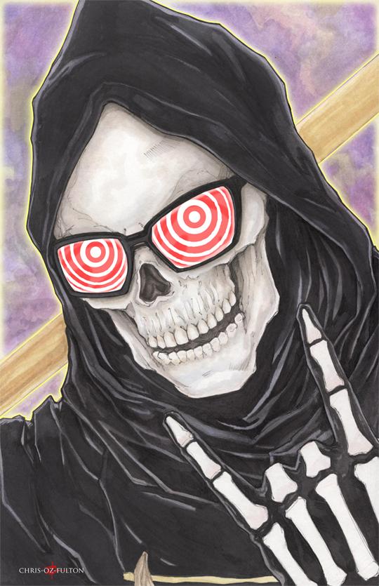 Uncle Death Let It Die by ChrisOzFulton