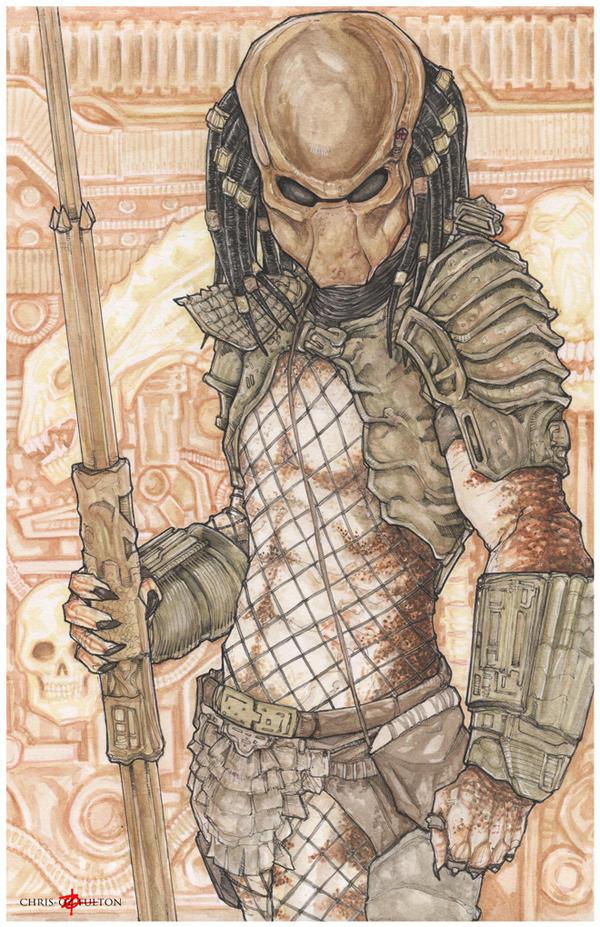 Predator 2 City Hunter Yautja by ChrisOzFulton
