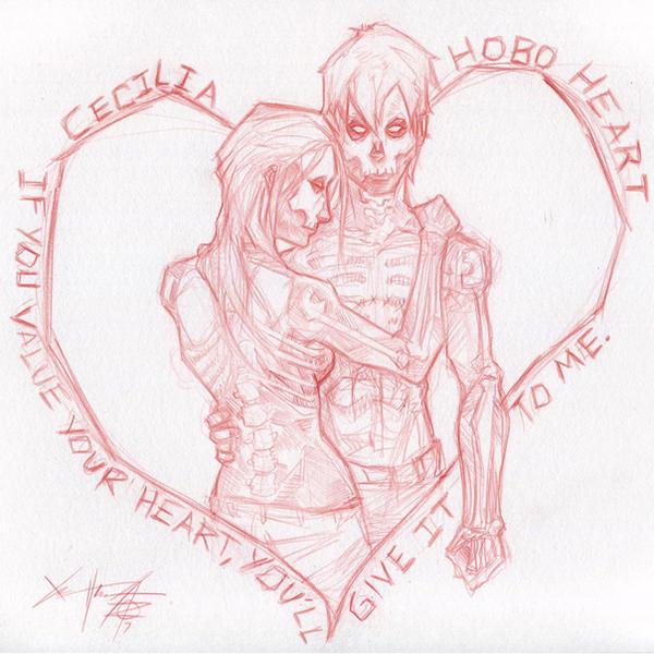 Hobo Heart and Cecilia by ChrisOzFulton