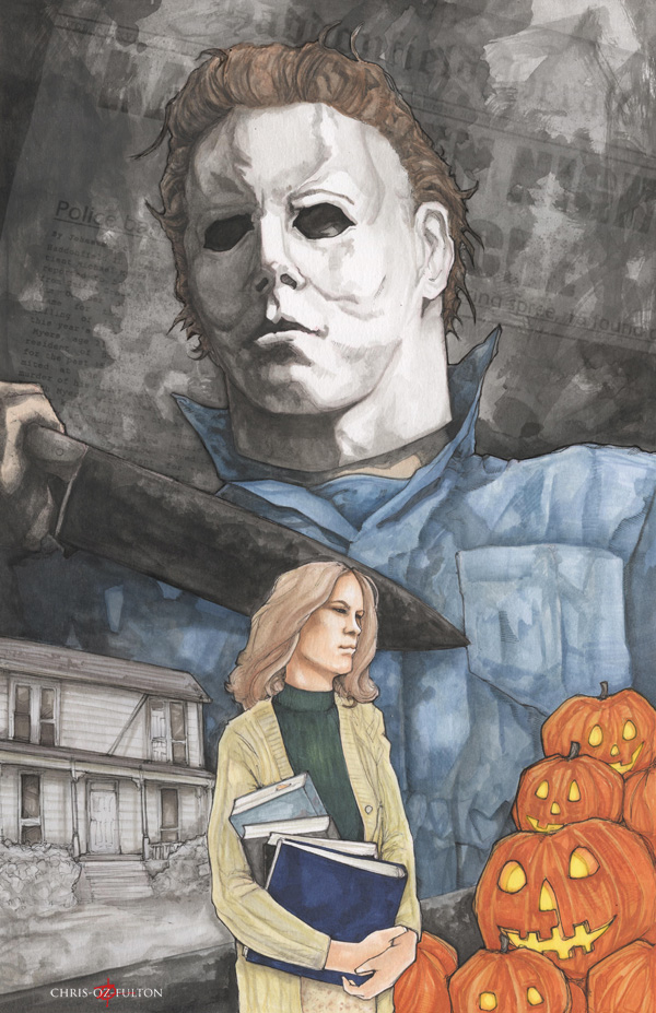 Michael Myers Halloween by ChrisOzFulton