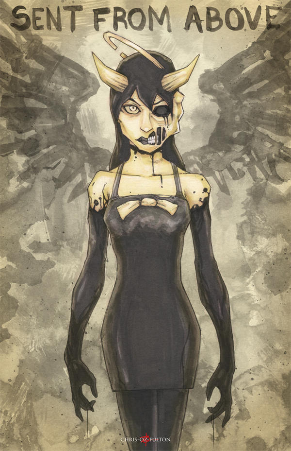 Bendy And The Ink Machine Alice Angel By Chrisozfulton On
