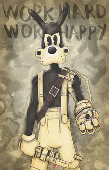 Bendy And The Ink Machine Boris The Wolf Tom Ch. 4