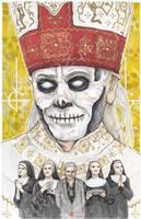 The Band Ghost BC Papa Emeritus Nihil by ChrisOzFulton
