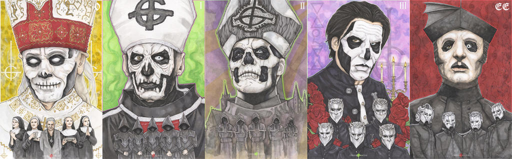 The Band Ghost BC Papa Emeritus Cardinal Copia by ChrisOzFulton