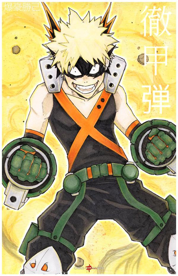 Bakugou Katsuki Boku No Hero My Hero Academia by ChrisOzFulton