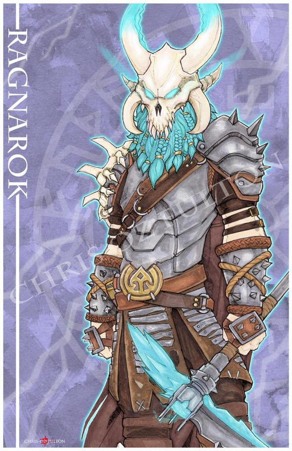 Fortnite Ragnarok by ChrisOzFulton