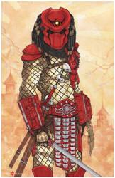 Predator Yautja Big Red By Chris Oz Fulton