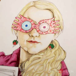 Working On A Luna Lovegood by ChrisOzFulton