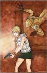 Silent Hill 3 Heather Mason Valtiel