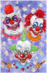 Killer Klowns from Outer Space 1988 Horror Movie