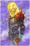 Cosmic Ghost Rider Art